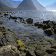 Milford Sound - New Zealand — Stock Photo