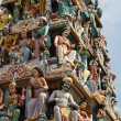 Sri Mariamman Temple - Singapore - Stock Photo
