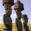 Постер, плакат: Moai Easter Island South Pacific
