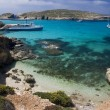 Blue Lagoon - Comino - Malta — Stock Photo