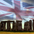 Stonehenge - Salisbury Plain - England. - Stock Photo