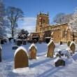 Winter snow - North Yorkshire - United Kingdom — Stock Photo