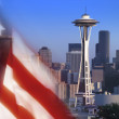 Stock Photo: Space Needle - Seattle - United States of America