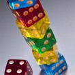 Gambling - Casino Dice — Stock Photo