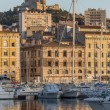 Port of Marseille - French Riviera — Stock Photo #16976491
