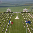 War Cemetery - The Somme - France — Stock Photo