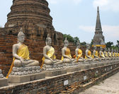 Ayutthaya near Bangkok - Thailand — Stock Photo