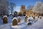 Winter snow - North Yorkshire - United Kingdom — Stock Photo