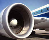 Aviation - Jet Engine — Stock Photo