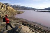 Noa Lake - Greenland — Stock Photo