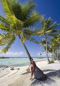 Polinesia francesa en el pacífico sur — Foto de Stock