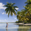 Cook islands - océano Pacífico Sur — Foto de Stock