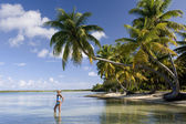 Cook Islands - South Pacific Ocean — Stock Photo