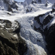 Tasman Glacier - Mt Cook - New Zealand — Stock Photo