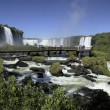 Iguassu Falls on Brazil Argentinborder — Stock Photo #17057011