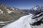 Tasman Glacier - Mt Cook - New Zealand — Стоковое фото