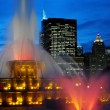Buckingham Memorial Fountains - Chicago - USA - Stock Photo