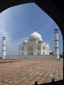 Taj Mahal - Agra - India — Stock Photo