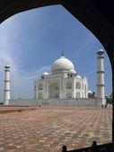 Taj mahal - agra - Indie — Zdjęcie stockowe