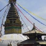 Swayambhunath Stupa in Kathmandu. Nepal — Stock Photo #17098699
