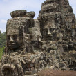 Bayon Temple - Angkor Wat - Cambodia - Stock Photo