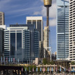 Darling Harbor - Sydney - Australia - Stock Photo