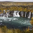 Hraunfossar Waterfalls - Iceland — Stock Photo #17122425