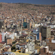 La Paz in Bolivia — Stock Photo