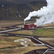Geo-thermal Power Station - Iceland — Stock fotografie