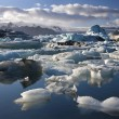 Stock Photo: Jokulsarlon glacial lagoon - Iceland