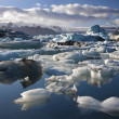 Jokulsarlon glacial lagoon - Iceland — Stock Photo #17126603