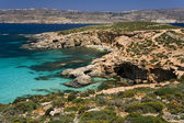 The small island of Comino - Malta — Stock Photo