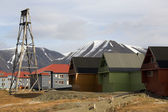 Longyearbyen - Svalbard Islands — Stock Photo