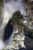 Aerial view of Victoria Falls - Africa — Stock Photo