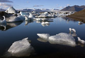 Jokulsarlon glacial lagoon - Iceland — Stock Photo