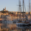 Port of Marseille - French Riviera - Stock Photo