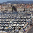 Port of Marseille - French Riviera — Stock Photo #17144291