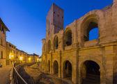 Roman Amphitheater - Arles - South of France — Stock Photo