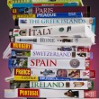 European Travel Guides - Stok fotoğraf