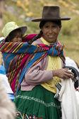 Peruvian mother and child - Peru — Stock Photo