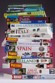European Travel Guides — Stock Photo