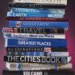 Stock Photo: Travel Books - Worldwide