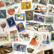 Stock Photo: 20th Century Polish Postage Stamps