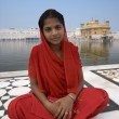 Stock Photo: Golden Temple of Amritsar - India