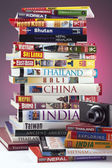 East Asia Travel Guides — Stock Photo