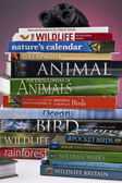 Wildlife & Nature Books — Stock Photo