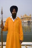 Gyllene templet i amritsar - indien — Stockfoto