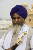 Sikh Man - Amritsar - India — Stock Photo