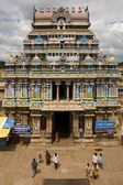 Srirangam Hindu Temple - India — Stock Photo