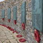 Falklands War Memorial - Stanley - Falkland Islands — Stock Photo #17186023